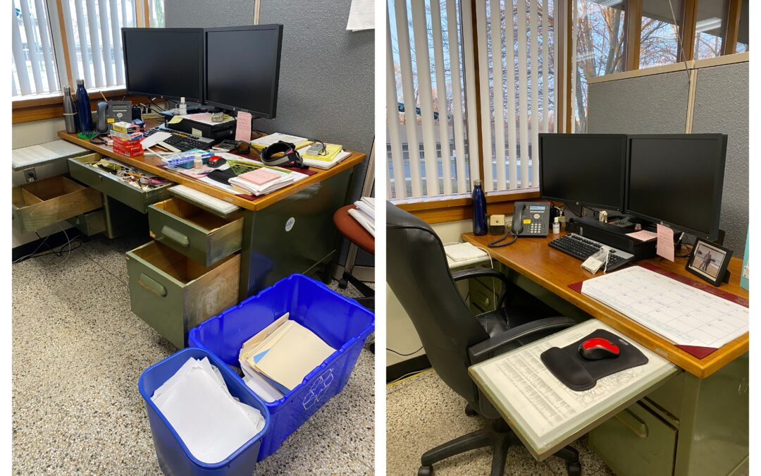 'Joy at Work': Taming My Husband's Office With KonMari