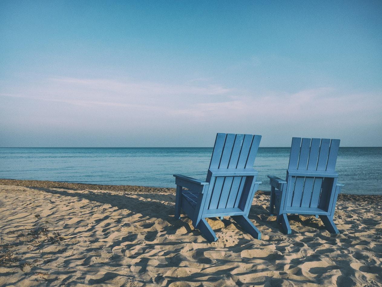 KonMari beach peace of mind